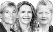 Helle Bjerre, founder People-Balance , Helle Lehmann, founder VisionRoomDk, og Jenny Braat, adm.dir., Danske Maritime