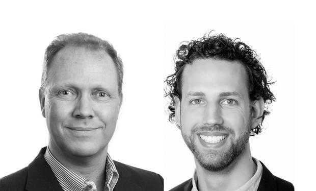 Jens Hauch, cheføkonom og vicedirektør i Kraka, og Thomas Wilken, økonom, Kraka