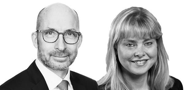 Thomas Hofman-Bang, adm. direktør, Industriens Fond og Lia Leffland, akademidirektør, Akademiet for Tekniske Videnskaber (ATV)