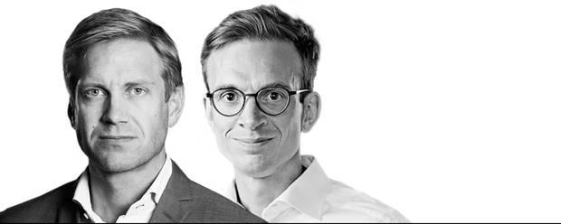 Christian Jensby, Clients & Industries-leder i Deloitte og Torben Nyholm, CFO i Arla