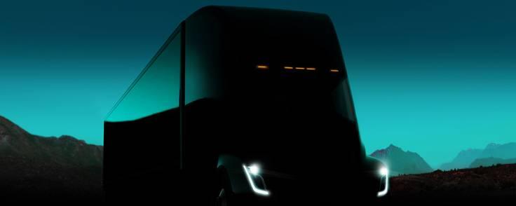Tesla Semi forventes at komme i handlen i 2019. PR-foto