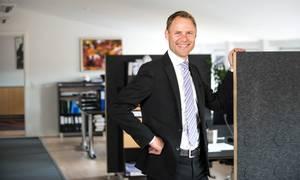 Der går lang tid, før Preben Rasmussen Høj er klar til at slippe rattet som daglig direktør og hengive sig til en bestyrelseskarriere. Foto: Dansk Revision
