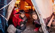 """Flygtninge fra Syrien-konflikten – her i en flygtningelejr i Jordan – er nogle af dem, som Lego Fonden sammen med den velgørende organisation Sesame Workshop (relateret til """"Sesame Street"""") vil støtte. Foto: Sesame Workshop/Ryan Donnell"""