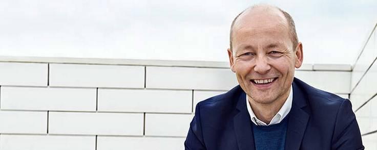 Ulrik Gernow har været i Lego siden 1994 og forlader Lego med udgangen af april 2019. Foto: Lego