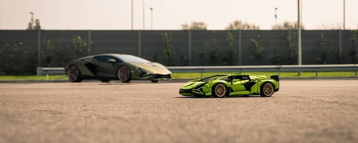 Lamborghini er et særdeles velkendt italiensk superbrand inden for biler. Det er så kendt, at Lego Technic lancererede en model af Lamborghini Sián i maj 2020. Foto: Lego