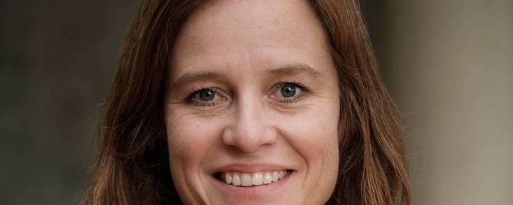 Topchef i biotekselskabet IO Biotech Mai-Britt Zocca jublede i ugens løb over en ny investering på ca. 1 mia. kr. fra en række danske og udenlandske investorer. Pengene skal bruges til at kommercialisere et lægemiddel mod modermærkekræft. Foto: IO Biotech