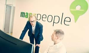 85 mio. kr. er Mapspeoples mål for den forestående børsnotering. Foto: PR