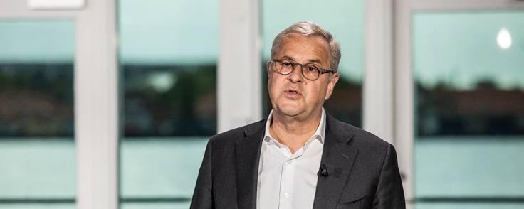Søren Skou, adm. direktør i A.P. Møller-Mærsk, vil levere et større afkast til investorerne. Foto: Mærsk