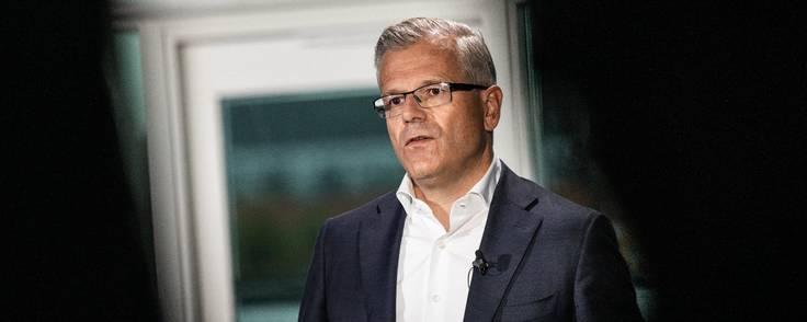 Vincent Clerc, der er koncerndirektør i Mærsk, vil investere yderligere i at gøre shippingkoncernens platform til det sted, hvor transportkunderne henter deres informationer. Foto: Mærsk