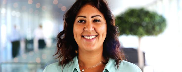 Shereen Zarkani, chef for Maersk Growth, har som led i sin karriere i Mærsk gennem tyve år rejst rundt i verden. Foto: Mærsk