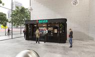 Sådan kan en ubemandet 7-Eleven-butik komme til at se ud, når den åbner senere i år. Foto: PR