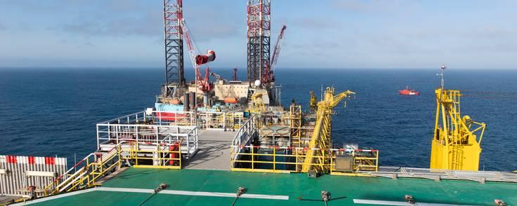 Det kommer til at koste mere end forventet at genopbygge Tyra-platformen, der skal levere gas til danskerne fra andet kvartal 2023. Foto: Noreco