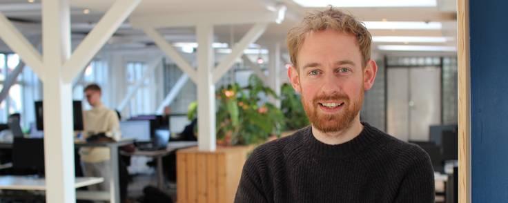 Simon Salomonsson er stifter og direktør bag firmaet SpotOn.  Foto: SpotOn Marketing.