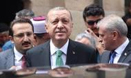 Tyrkiet er havnet i en økonomisk krise, efter at præsident Recep Erdogan har valgt konfrontationskursen mod USA i den eskalerende handelskrig. Foto: AP Foto.