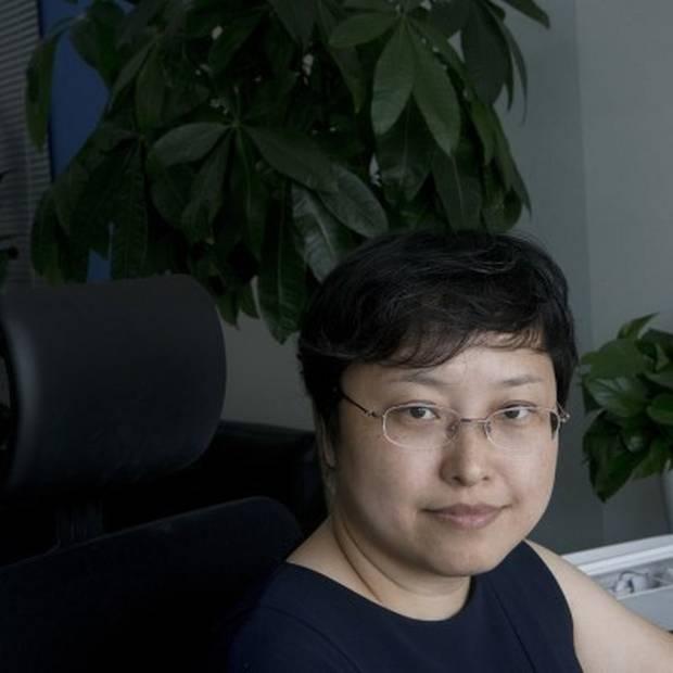 Chen Dan, vice president hos NavInfo. Foto: Giulia Marchi/Bloomberg