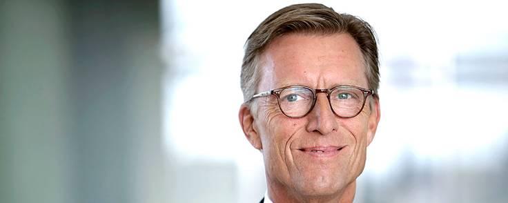 Koncerndirektør Kim Duus er glad for Nykredits opkøb af Sparinvest, som han ser store perspektiver i. Foto: Nykredit