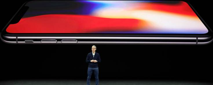 Inden for i Steve Jobs Theater. oto: Marcio Jose Sanchez/AP