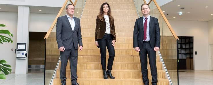 Microsoft havde hidkaldt på DI-direktør Lars Sandahl Sørensen og finansminister Nicolai Wammen til sit hovedsæde i Kongens Lyngby i forbindelse med annonceringen af datacentrene - selv om selskabet dybest set ikke ønskede at afsløre særlig meget.