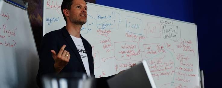 It-selskabet Valuer med adm. direktør Dennis Poulsen i spidsen blev stiftet i 2017 og har sæde i København. Foto: PR